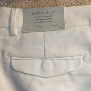 GAP Pants - White Gap Dress Pants NWT